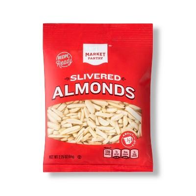 Nuts & Seeds: Market Pantry Slivered Almonds