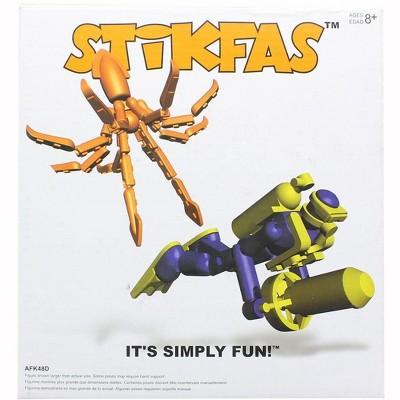 "Saizon Stikfas Alpha Male Diver with Octopus 3"" Mini Figure"