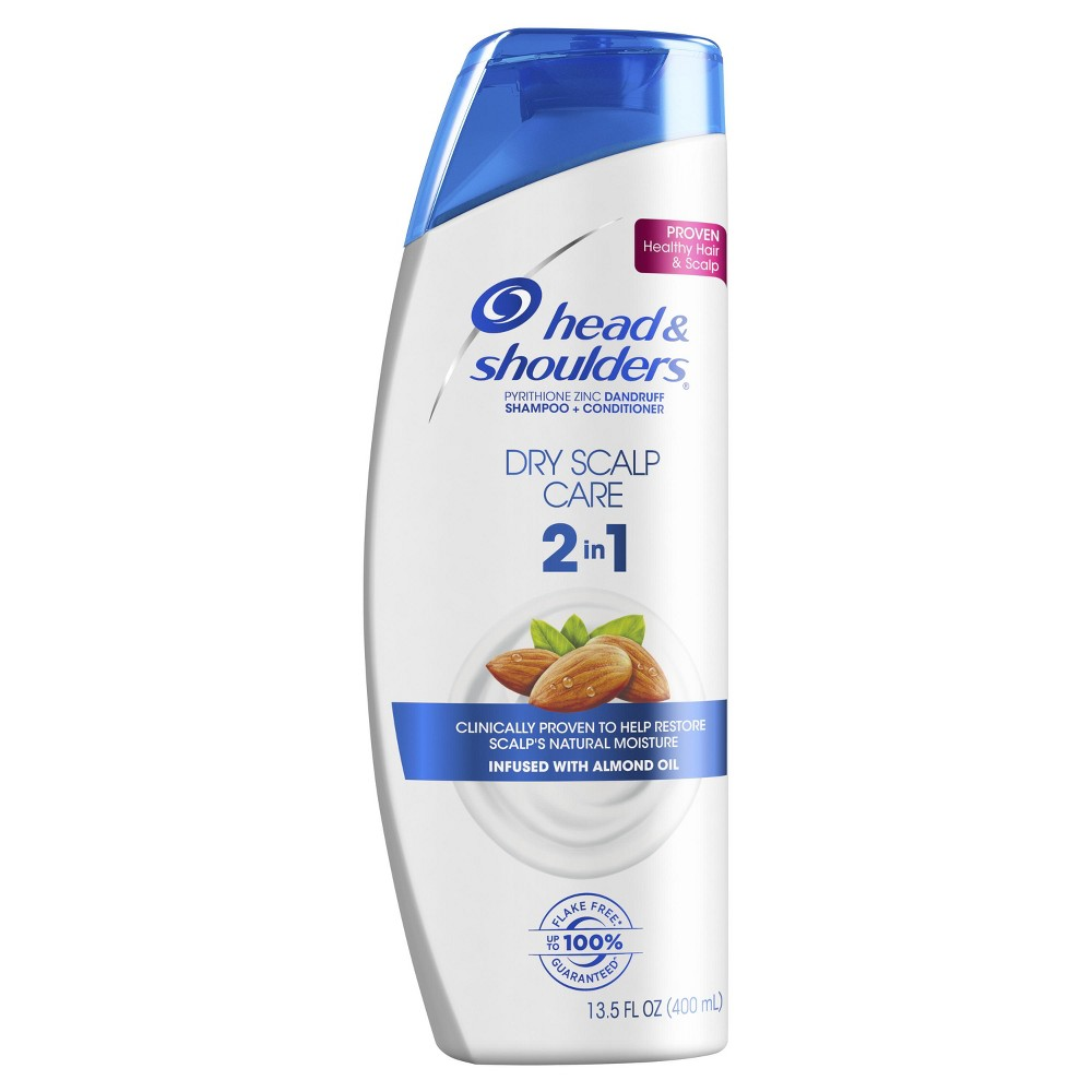 Image of Head and Shoulders Dry Scalp Care Anti-Dandruff 2 in 1 Shampoo & Conditioner - 13.5 fl oz