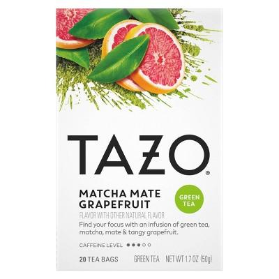 Tazo TB Matcha Mate Grapefruit - 20ct/1.7oz