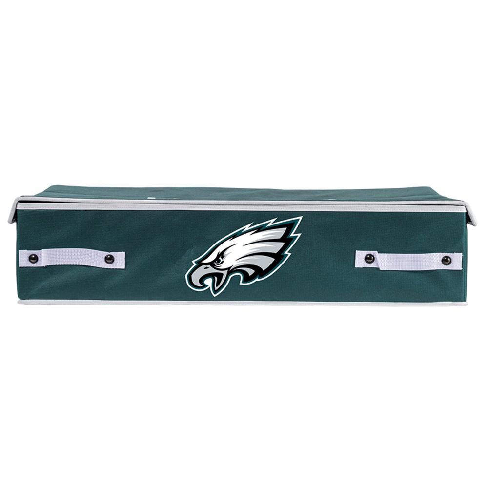 NFL Franklin Sports Philadelphia Eagles Under The Bed Storage Bins - Large, Multicolored