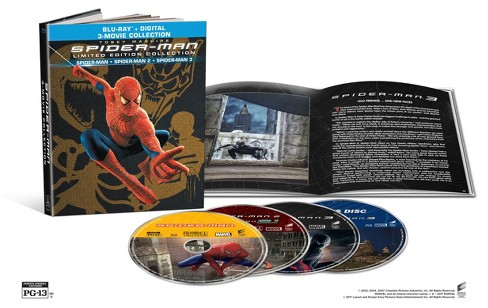 Spider-Man Origins Collection (Blu-ray + Digital) - image 1 of 2