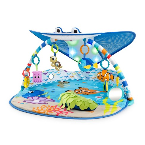Disney Baby Finding Nemo Mr. Ray Ocean Lights Activity Gym - image 1 of 4