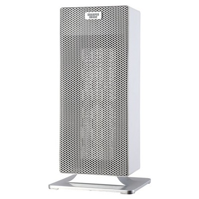 Sharper Image 15  Ceramic Tower Heater White