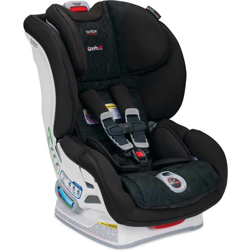 Image of Britax Boulevard ClickTight Convertible Car Seat - Black
