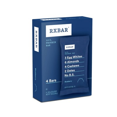 RXBAR Blueberry Protein Bars - 4ct