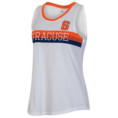 NCAA Syracuse Orange Women's White Tank Top