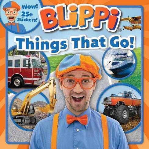 Blippi: Things That Go! - by  Thea Feldman (Paperback) - image 1 of 1