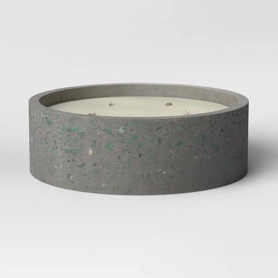 30oz Terrazzo 5 Wick Candle Gray - Project 62™