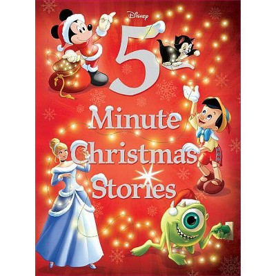 Disney 5-Minute Christmas Stories - by Disney Book Group (Hardcover)