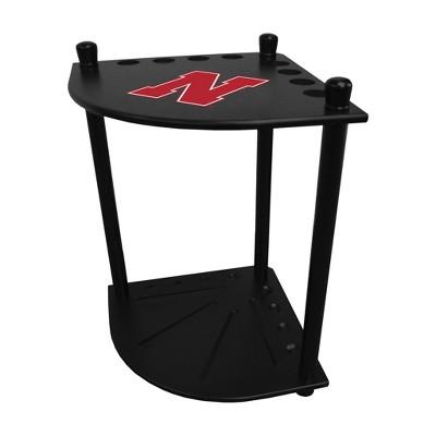 NCAA Nebraska Cornhuskers Corner Cue Rack