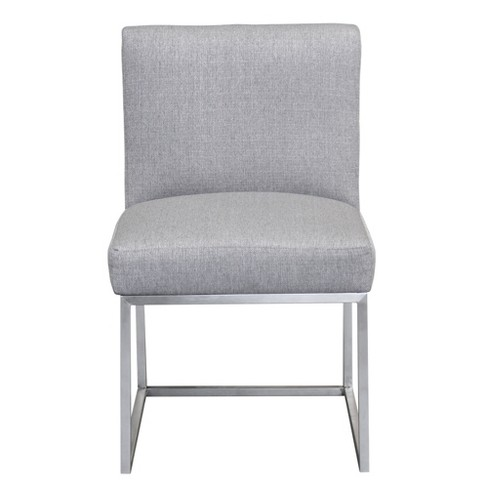 Armen Living Bailey Contemporary Dining Chair Gray - image 1 of 4