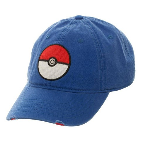 Poke Ball Brimmed Dad Hat - image 1 of 3