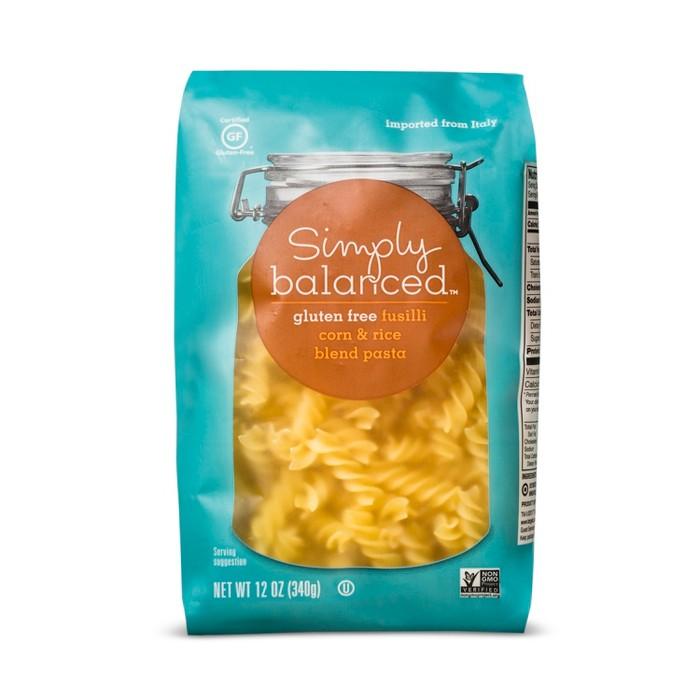 Gluten Free Fusilli Pasta - 12oz - Simply Balanced™ - image 1 of 3