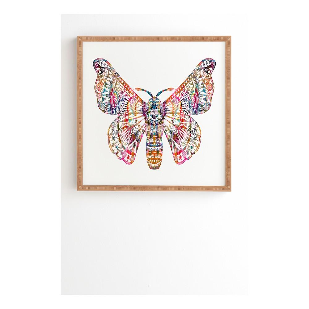 Stephanie Corfee Artsy Moth Framed Wall Art 12