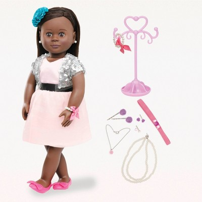 "Our Generation 18"" Jewelry Doll with Pierced Ears - Maeva"