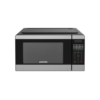 Proctor Silex 0.7 cu ft Microwave Oven - Silver