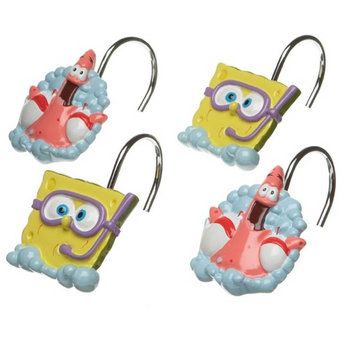 12pc Nickelodeon Shower Curtain Rings