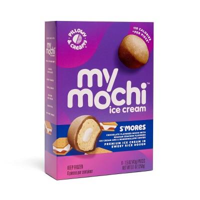 My/Mochi Third Layer S'mores Ice Cream - 6pk