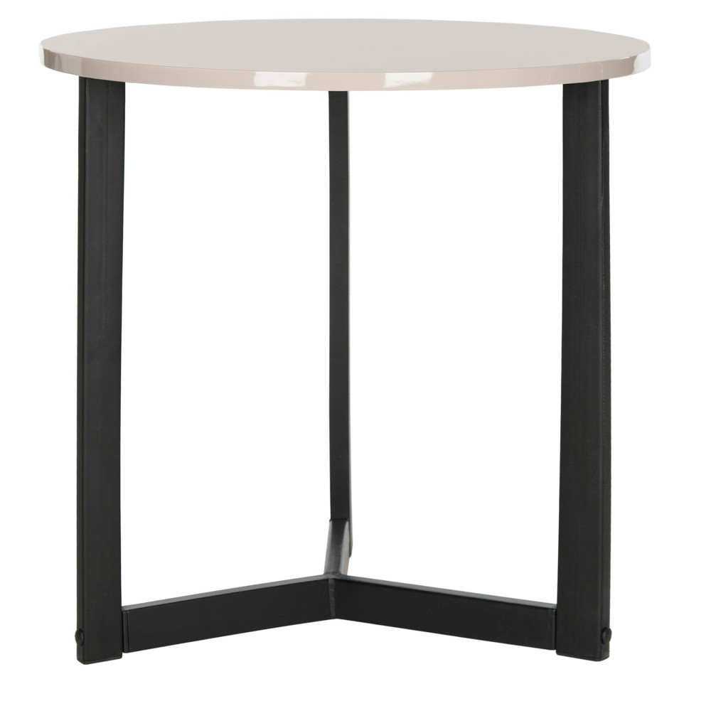 Ballard End Table - Taupe (Brown) - Safavieh