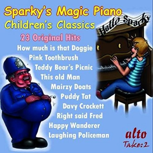Various - Sparky's magic piano:Childrens radio (CD) - image 1 of 1
