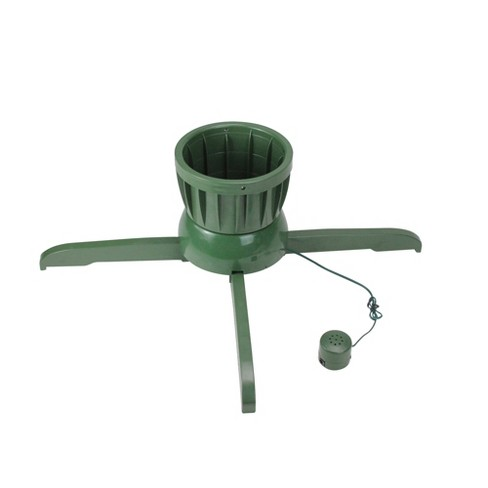 Northlight Musical Rotating Christmas Tree Stand - For Live Trees ...