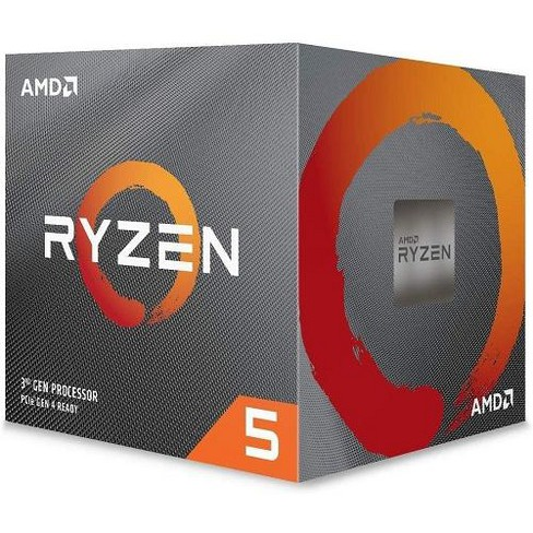 Amd Ryzen 5 3600x Unlocked Desktop Processor W Wraith Spire Cooler 6 Cores 12 Threads 3 8 Ghz 4 4 Ghz Cpu Speed 32mb L3 Cache Target