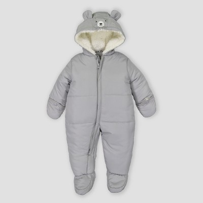 Baby Boys' Snowsuit - Just One You® made by carter's Gray 3M