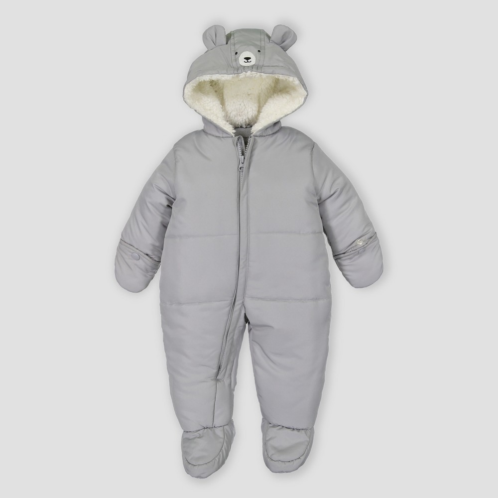 Baby Boys' Snowsuit - Just One You made by carter'sGray 3M, Gray