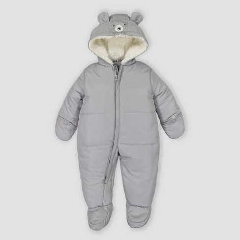 096646553335 Baby Boys  Snowsuit Just One You® Made By Carter s Gray   Target