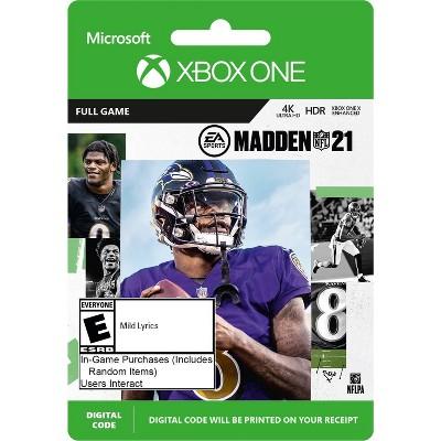 Madden NFL 21 - Xbox One (Digital)