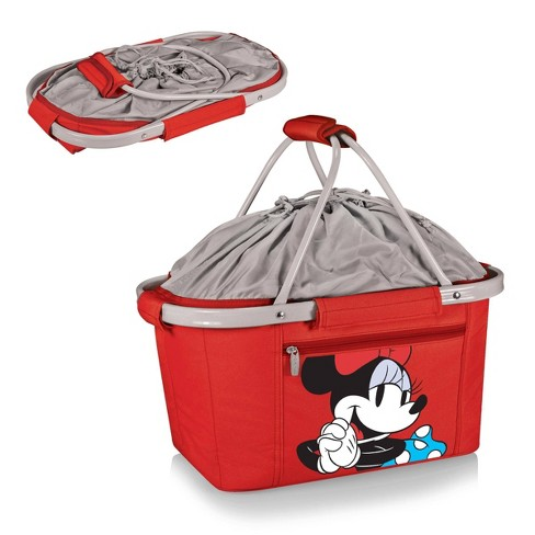 Picnic Time Disney Minnie Mouse Metro Basket Cooler - Red - image 1 of 2