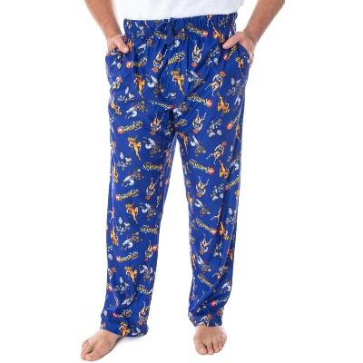 ThunderCats Men's Classic Cartoon Character Adult Sleep Lounge Pajama Pants