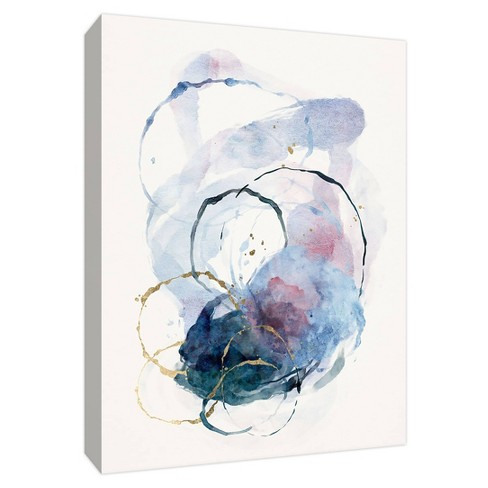 Watercolor Mess Gallery Wrapped Canvas - PTM Images - image 1 of 2