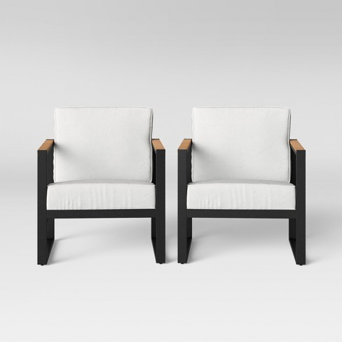 Henning 2pk Patio Club Chair - Project 62™ - image 1 of 5