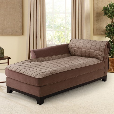 Furniture Friend Deluxe Comfort Quilted Armless Chaise Furniture