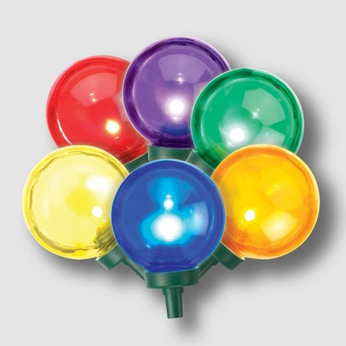 Philips 25ct Christmas LED G40 String Lights Multicolored - image 1 of 3