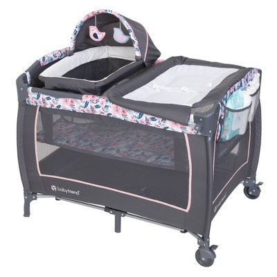 Baby Trend Lil Snooze Deluxe II Nursery Center - Bluebell
