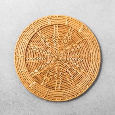 Rattan Decorative Tray - Hearth & Hand™ with Magnolia