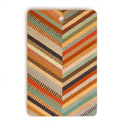 "17"" x 12"" Wood Alisa Galitsyna Grandmother's Quilt Rectangular Cutting Board - society6"