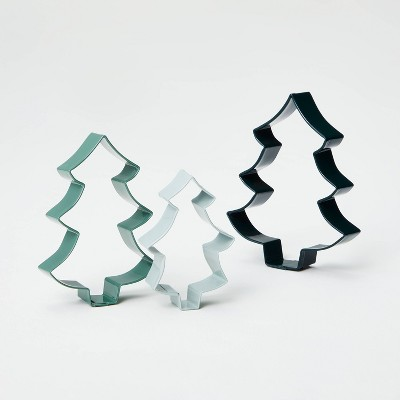 3pc Tree Shape Cookie Cutter Set - Hearth & Hand™ with Magnolia