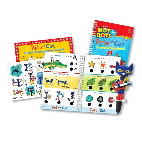Educational Insights Hot Dots Jr. Pete The Cat I Love Preschool! Set with Pete Pen - image 1 of 5