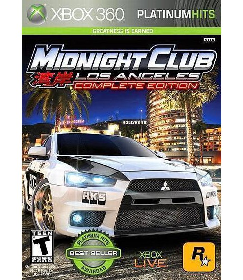 Midnight Club: Los Angeles Complete Edition Xbox 360 - image 1 of 1