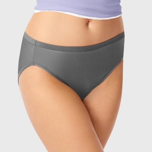 fa40849d7d2 Hanes Premium Women's Cool & Comfortable Microfiber Hi-Cut Panties 4pk