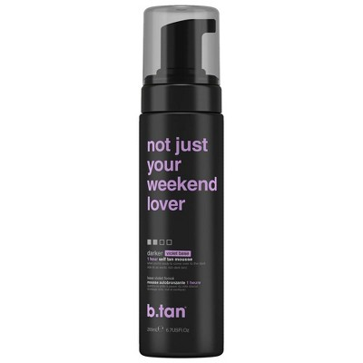 b.tan Not Just Your Week End Lover Self Tan Mousse - 6.7 fl oz