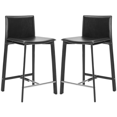 Set of 2 Janet Counter Height Barstools - Safavieh