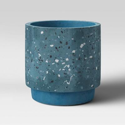"""6"""" Concrete Terrazzo Planter Blue - Project 62™"""