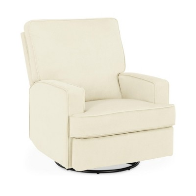 Baby Relax Addison Swivel Gliding Recliner - Ivory