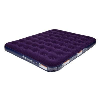 Stansport Deluxe Inflatable Air Bed Mattress Queen Size