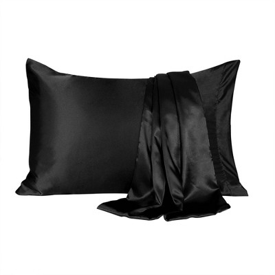 2 Pcs Silky Satin Soft Pillow Cases - PiccoCasa